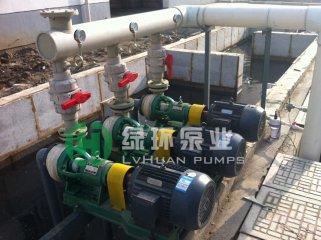 齐鲁石化炼油厂采用我公司FSB泵