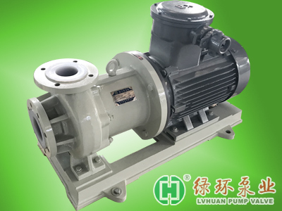 LHC型抗干磨衬氟磁力泵(专利